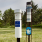 Tinytag count logger used to create accurate rain gauge