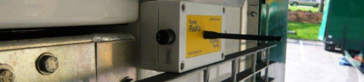 Tinytag temperature data loggers for vehicle and warehouse monitoring