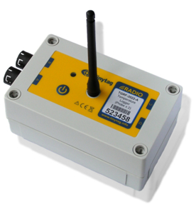 Tinytag Radio temperature data logger - industrial and waterproof