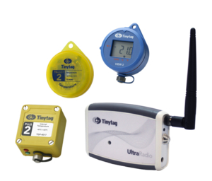 Tinytag data loggers for cold chain logistics