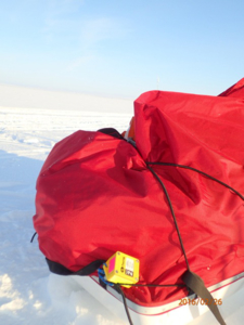 Tinytag Plus 2 data logger during greenland crossing
