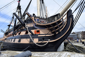 Tinytagv Plus 2 and Ultra 2 data loggers in HMS Victory