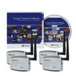 TR-3500-3SPK Tinytag Ultra Radio Bundle - 3 temperature and humidity data loggers, receiver, software and cable.