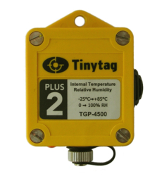 TGP-4500 Tinytag Plus 2 internal temperature and relative humidity data logger - top view