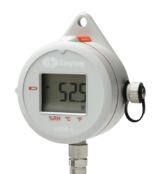 TV-4506 Tinytag View 2 grey temperature and relative humidity probe data logger with digital display