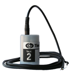 TK-4702-PK Tinytag Talk 2 voltage data logger with input lead attached